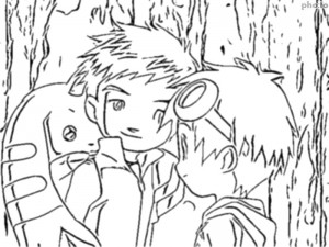 Tamers Coloriage 09