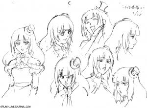 Sketch_NanamiExpressions