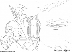Sketch_ShineGreymonCloseupBack