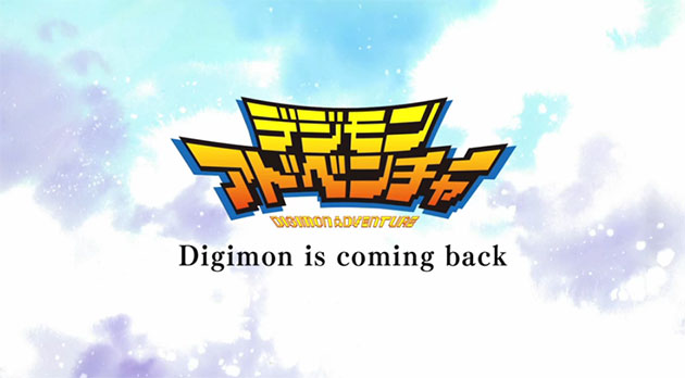 Digimon Adventure anime 2015