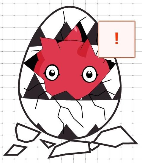 Éclosion du digi-œuf ! Punimon apparaît !! + News en vrac