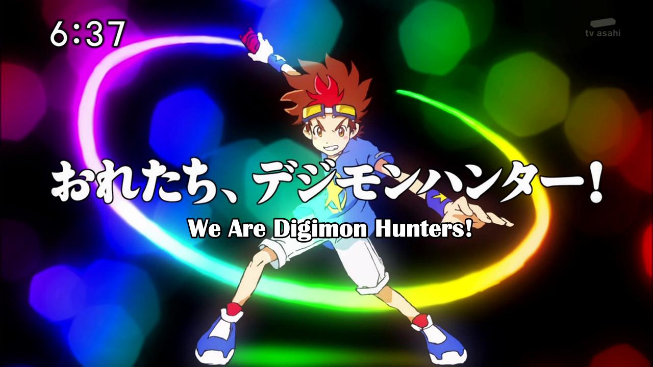 Le retour d'Emilie + analyse des épisodes de Digimon Hunter