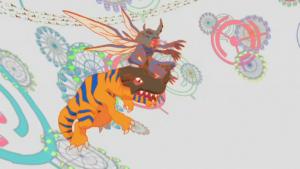 Digimon superflat