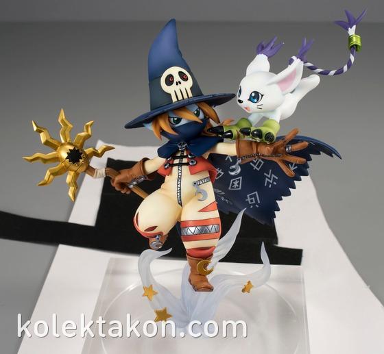 Wizardmon et Tailmon en figurine ! Eir Aoi et Otomedia
