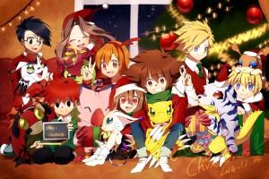 Digimon Adventure Christmas