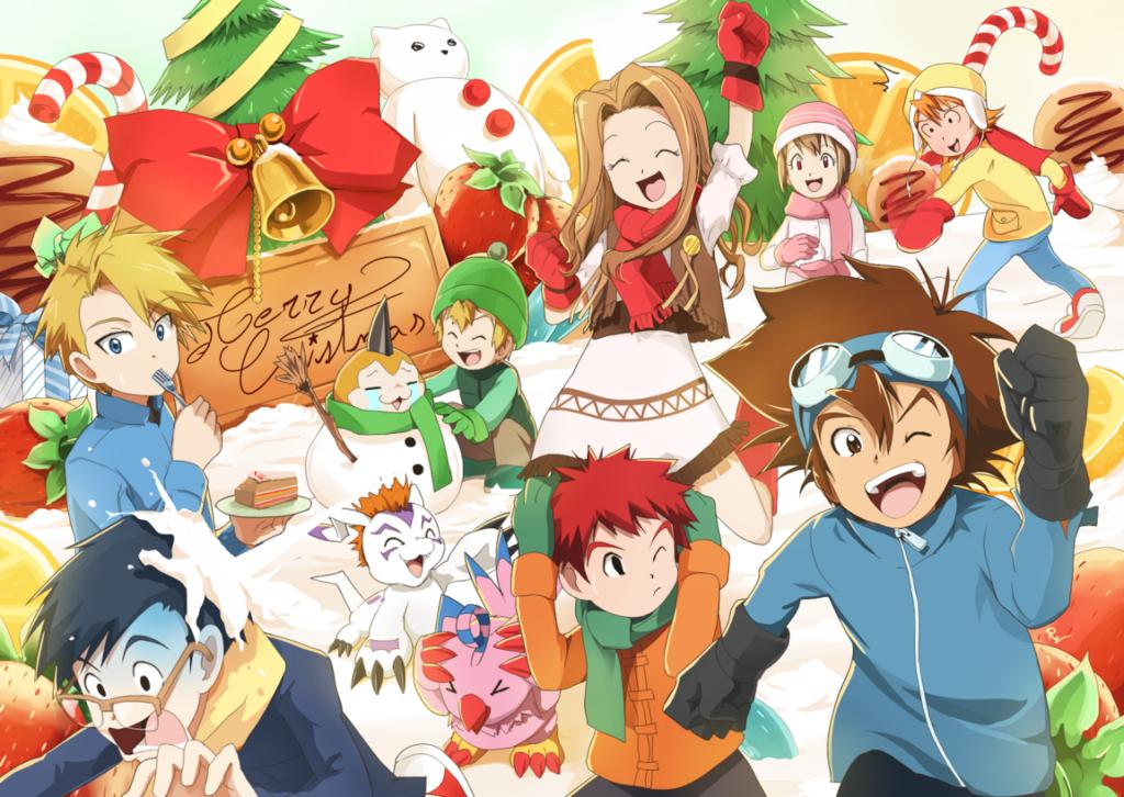 Dossier : Noël dans Digimon – Unboxing du bluray de Saikai