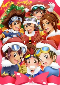 Merry Christmas from the DigiWorld by Sara-chibi