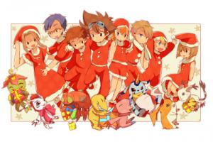 Dossier Digimon Christmas
