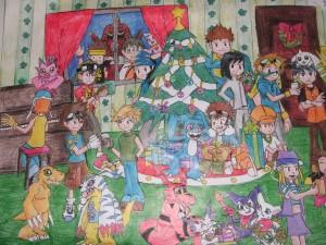 digimon_christmas_by_zumaki97-d349da1