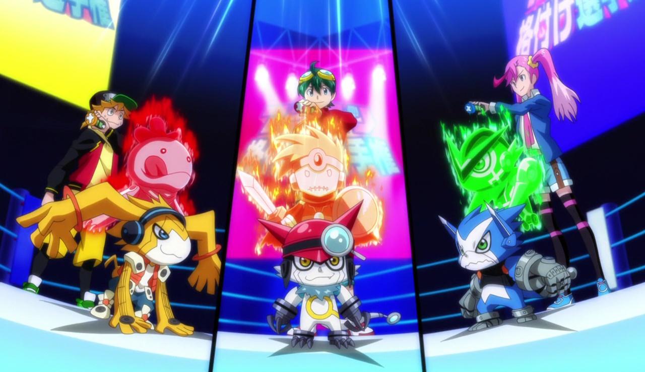 [VOSTFR] Digimon Universe Appli Monsters : Episode 09